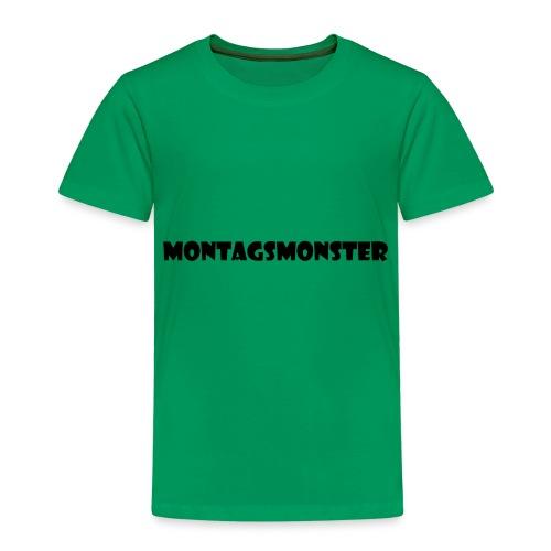 Montagsmonster - Kinder Premium T-Shirt