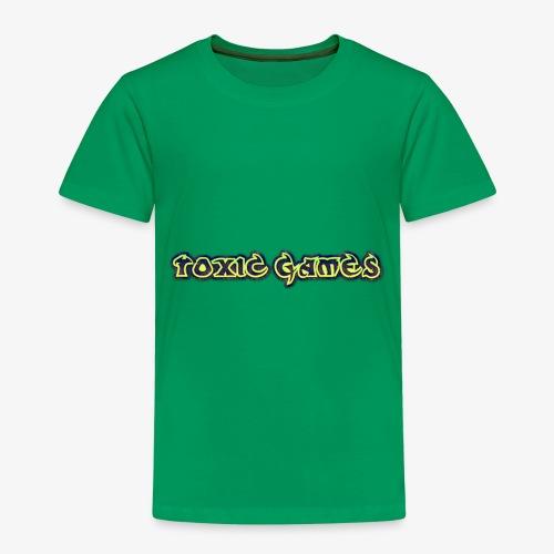 toxic games logo - Kids' Premium T-Shirt
