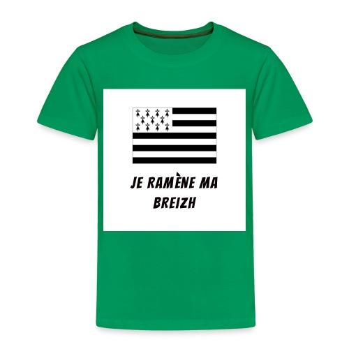 je ramene ma breizh - T-shirt Premium Enfant