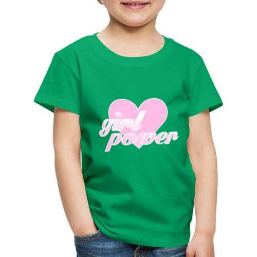 Girl Power Feminist - Camiseta premium niño