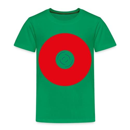 Unbenannt 222 - Roter Kreis mit Mitte - Kinder Premium T-Shirt