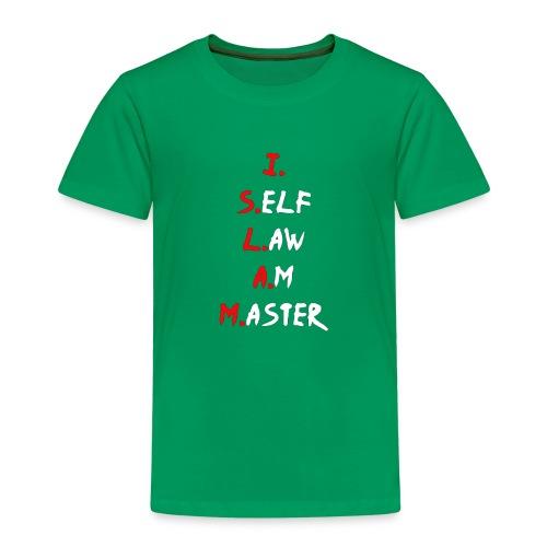 Moorish American T-Shirt Jag Självlag är Master Te - Premium-T-shirt barn