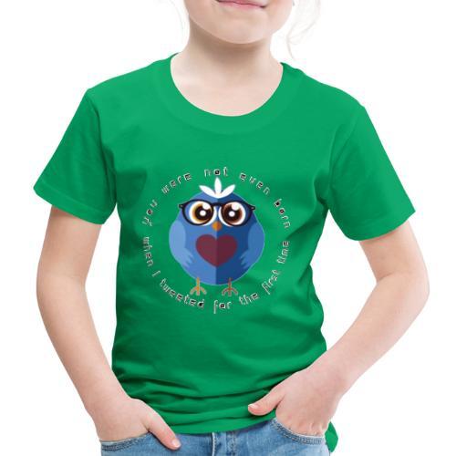 twitter - Kinder Premium T-Shirt