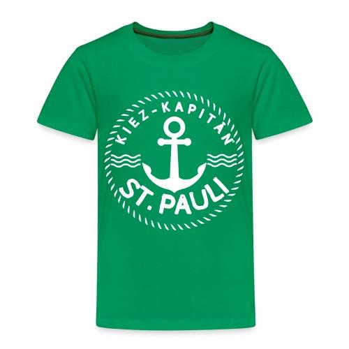 Kiez-Kapitän© St. Pauli Logo Gross - Kinder Premium T-Shirt