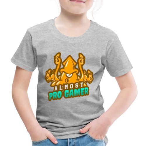 Almost pro gamer YELLOW - Maglietta Premium per bambini