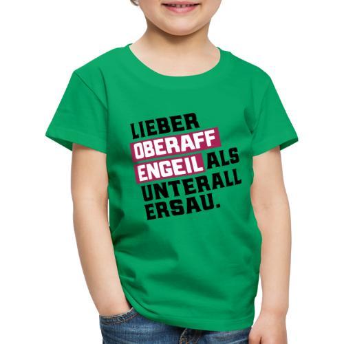 Ober-AFFEN-GEIL - Kinder Premium T-Shirt