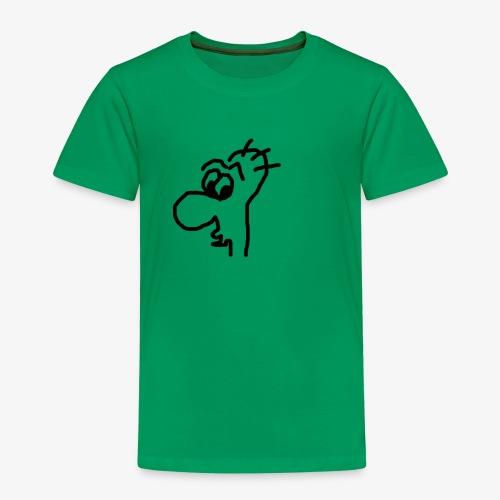 Gesicht mit großer Nase - Kinder Premium T-Shirt
