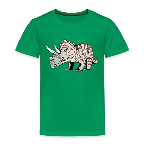 Triceratops irmavanosch 2 - Kinderen Premium T-shirt