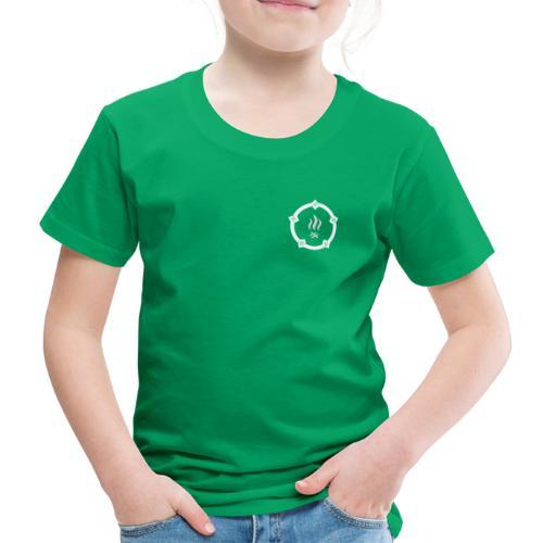 HKPT logotuote huutopainatuksella - Lasten premium t-paita