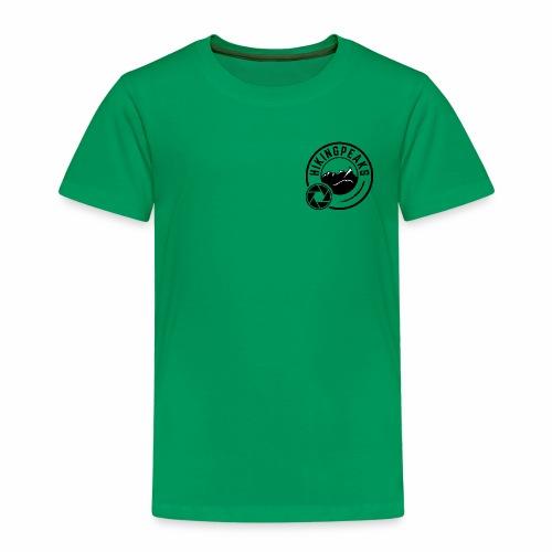 HIKINGPEAKS nero - Maglietta Premium per bambini