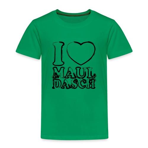 I LOVE MAULDASCH - Streetlook - Kinder Premium T-Shirt
