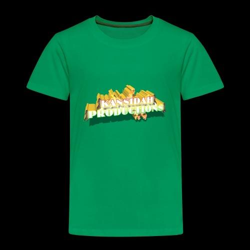 Kansidah Productions 3D Logo / Emblem - Kinder Premium T-Shirt