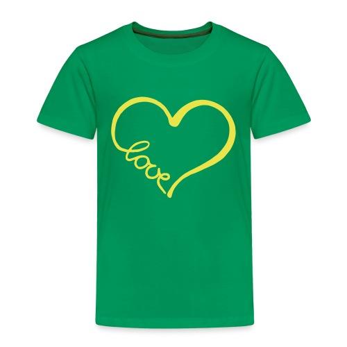 love heart 2 - Kids' Premium T-Shirt