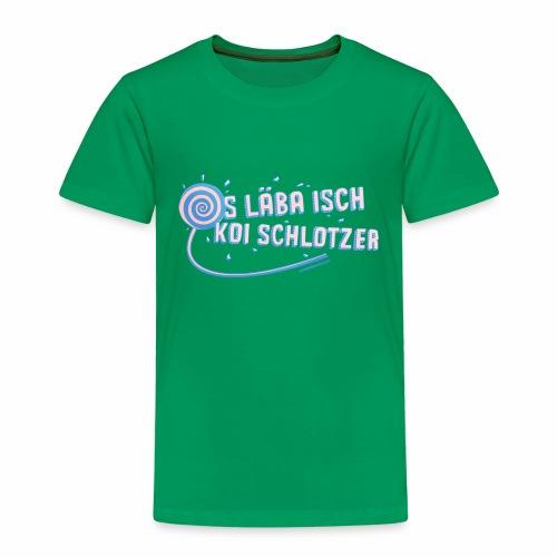 Das Leben ist kein Zuckerschlecken - Kinder Premium T-Shirt