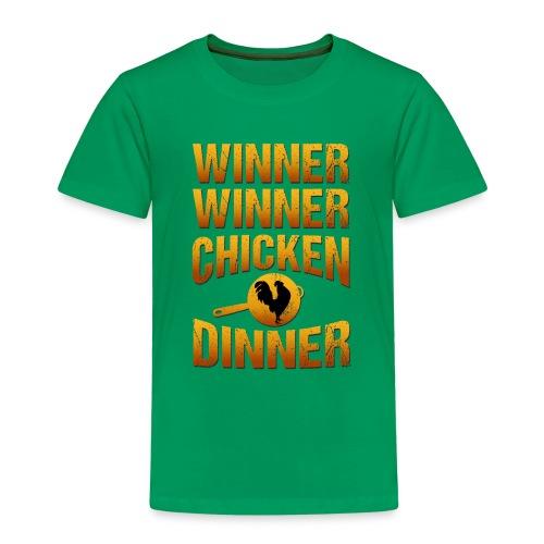 Winner Winner Chickendinner - Kinder Premium T-Shirt