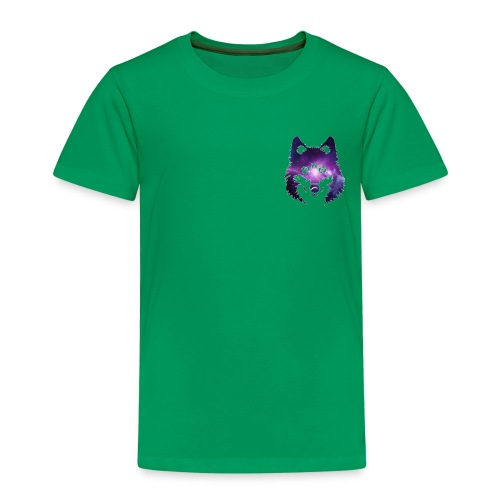 Galaxy wolf - T-shirt Premium Enfant