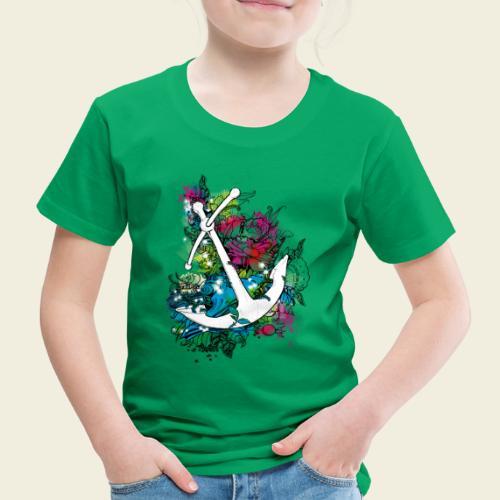 Echte Anker haben Kurven - Kinder Premium T-Shirt