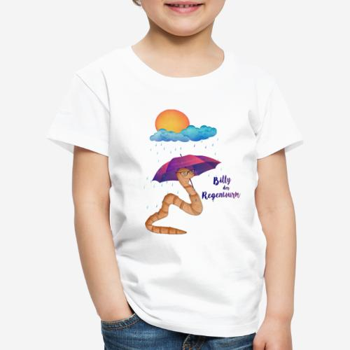 Billy der Regenwurm - Kinder Premium T-Shirt