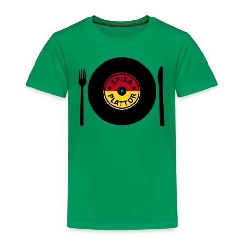 SPISA PLATTOR - Premium-T-shirt barn