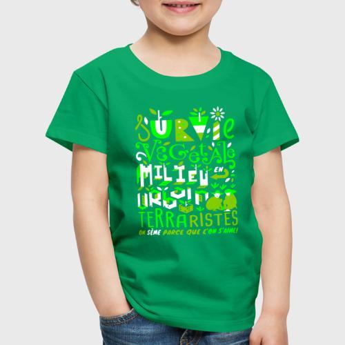 Green Guerilla - T-shirt Premium Enfant