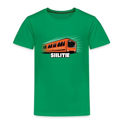 METRO SIILITIE, HELSINKI, Tekstiilit ja lahjat - Lasten premium t-paita