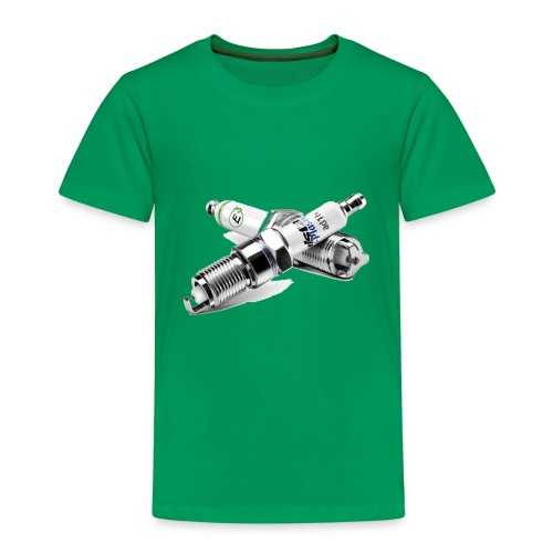car auto expo spark plug motorcycle intern - Kinder Premium T-Shirt