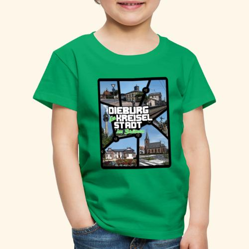Dieburg die KREISELSTADT im Grünen - Kinder Premium T-Shirt
