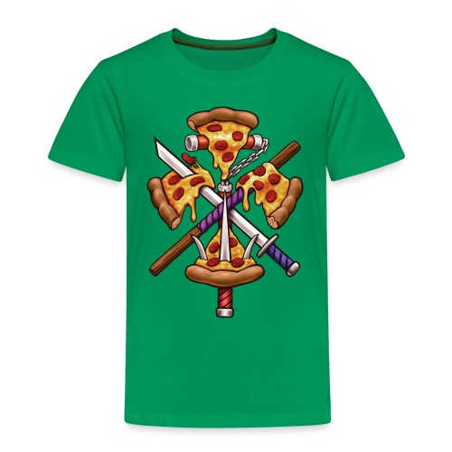Ninja Pizza - Kids' Premium T-Shirt