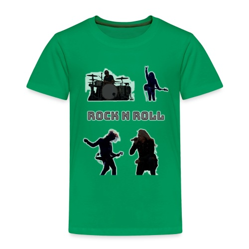 rocknroll - Premium-T-shirt barn