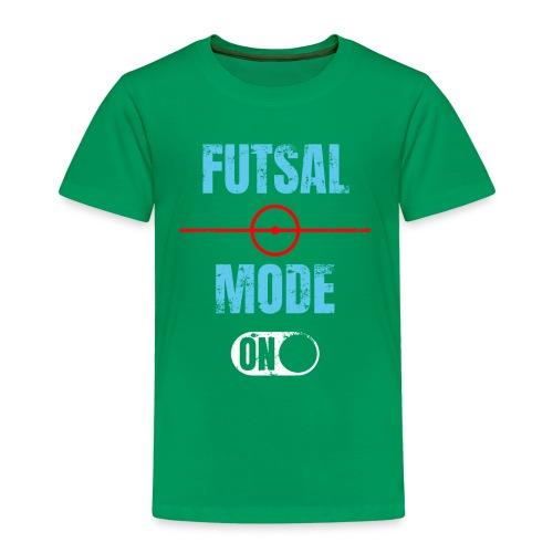 Futsal mode on Futsalspieler Hallenfussball - Kinder Premium T-Shirt