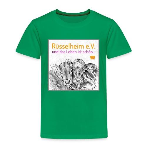 Das Leben ist schön mit Rüsselheim e.V. - Kinder Premium T-Shirt