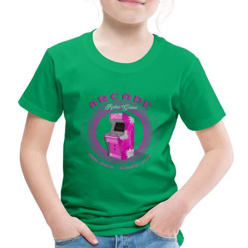 arcade retro game - Camiseta premium niño