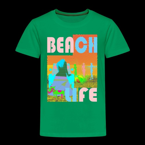 beachlife - Kinder Premium T-Shirt