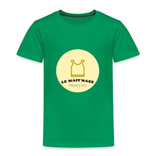 le Mait'Nage prend l'eau - T-shirt Premium Enfant