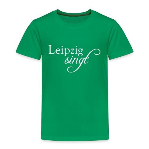 Leipzig singt Logo Weiss - Kinder Premium T-Shirt