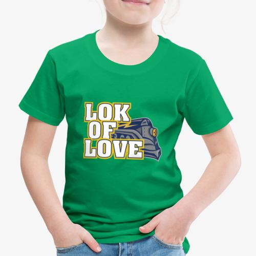 LOK OF LOVE 1 - Kinder Premium T-Shirt