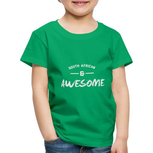 South African and Awesome - Kids' Premium T-Shirt