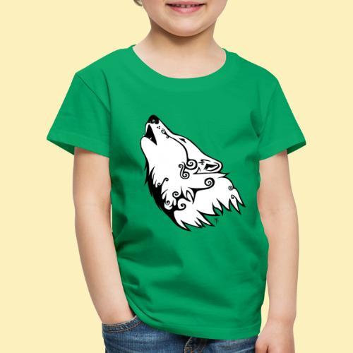 Le Loup de Neved (version blanche) - T-shirt Premium Enfant