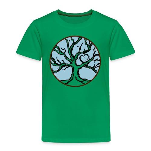 Lebensbaum Keltischer Baum mit Herz - Kinder Premium T-Shirt
