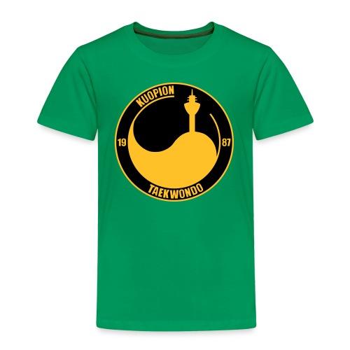 kuo tkd logo2017 brodeera - Lasten premium t-paita