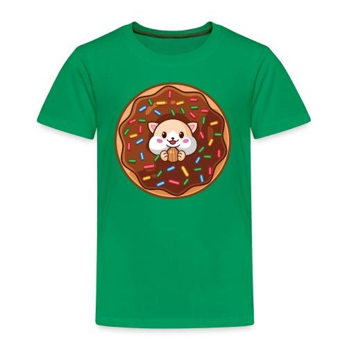Donut Hamster - Kinder Premium T-Shirt