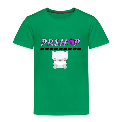 PrSHOP mit Teddy - Kinder Premium T-Shirt