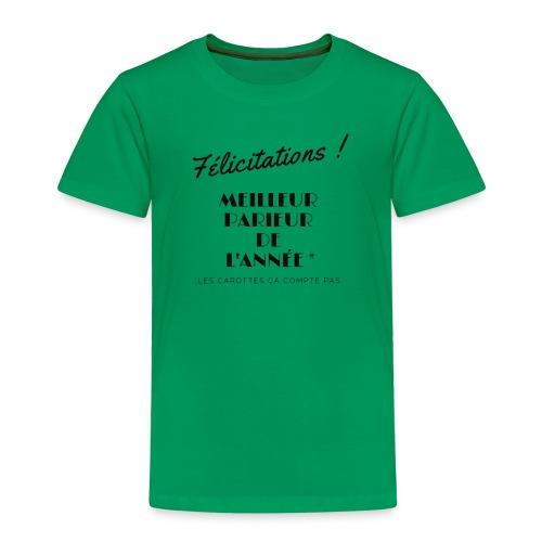 MEILLEUR PARIEUR DE L'ANNEE - T-shirt Premium Enfant