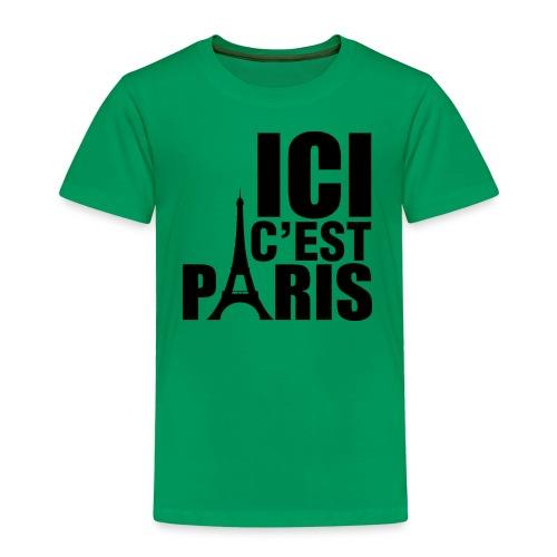 ICI C'EST PARIS - T-shirt Premium Enfant