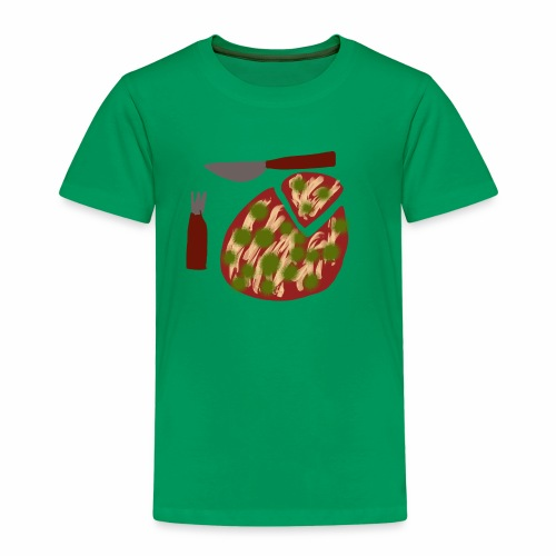 Eine Pizza - Kinder Premium T-Shirt