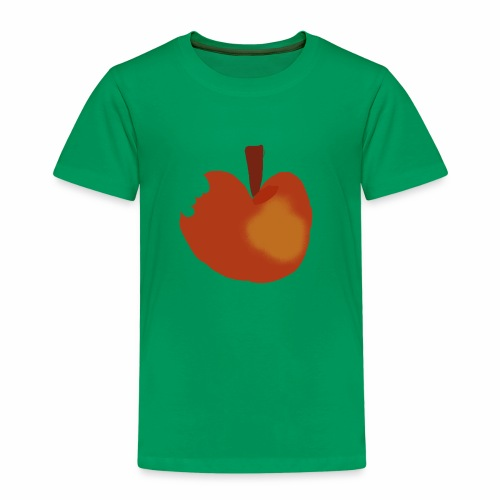 Apfel abgebissen - Kinder Premium T-Shirt