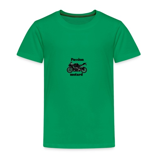 Passion motard - T-shirt Premium Enfant