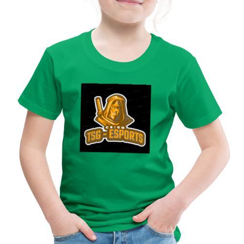 Tsg-Esports Logo main. - Børne premium T-shirt