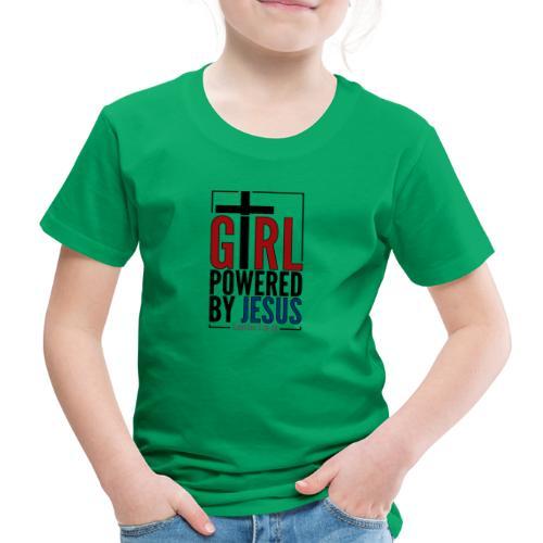 Girl Powered By Jesus - Women's Christian Fashion - Kids' Premium T-Shirt