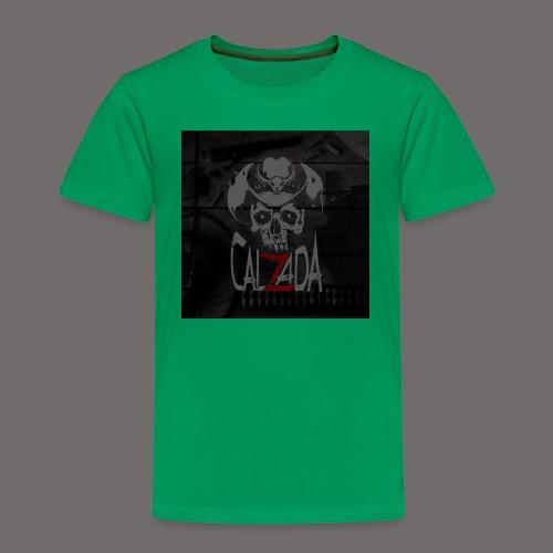 Calzada skull - Premium T-skjorte for barn